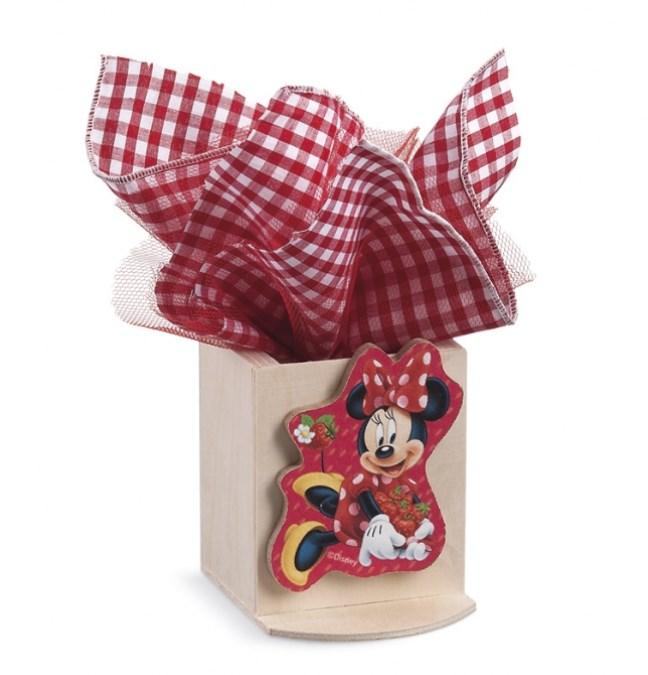 Minnie Φράουλες Μολυβοθήκη Με Clip Μπομπονιερα Βαπτισης