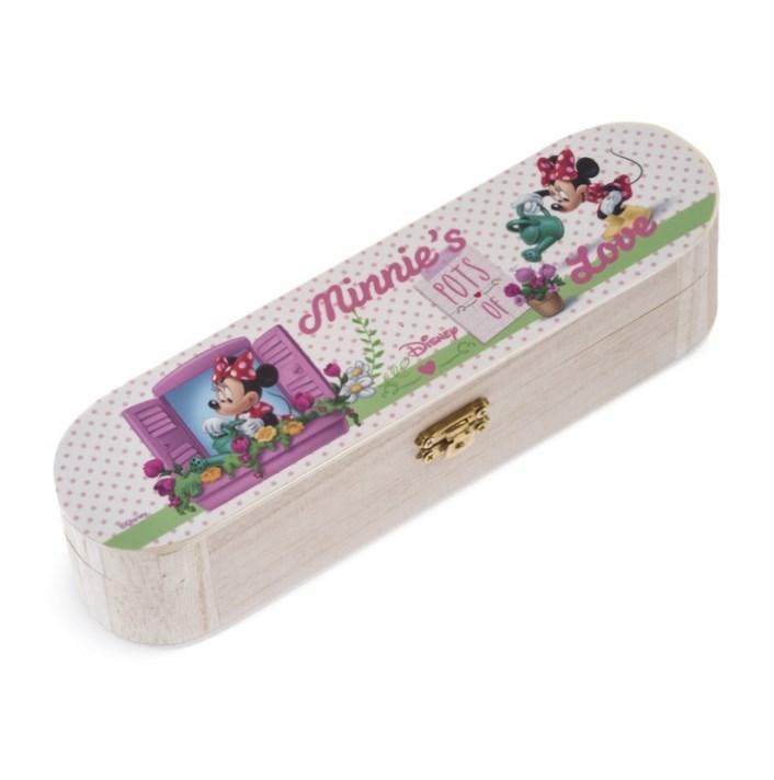 Minnie Λουλούδια Κασετίνα Μπομπονιερα Βαπτισης