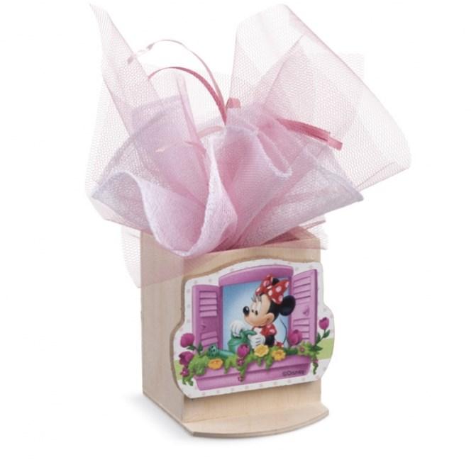 Minnie Λουλούδια Μολυβοθήκη Με Clip Μπομπονιερα Βαπτισης
