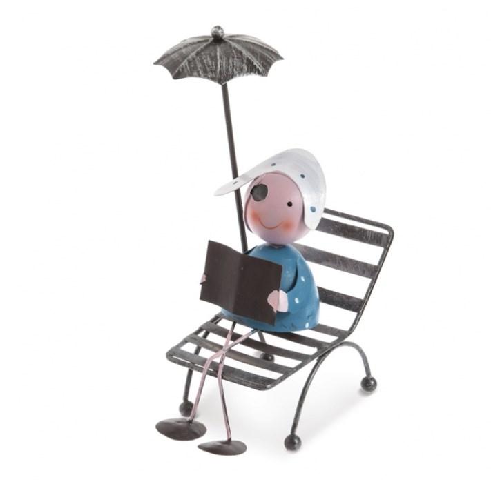 Πειρατής καθιστός με ομπρέλλα μπομπονιερα