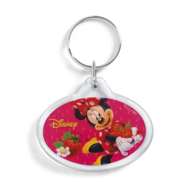 Μπρελόκ Minnie Φράουλες Μπομπονιερα Βαπτισης Disney